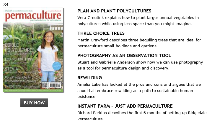 Loads of stimulating and informative articles in here, including my mandate for a rewilded human existence